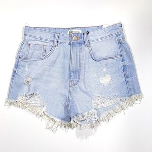 NWT Zara Trafaluc | Hot Pant High Rise Jean Shorts